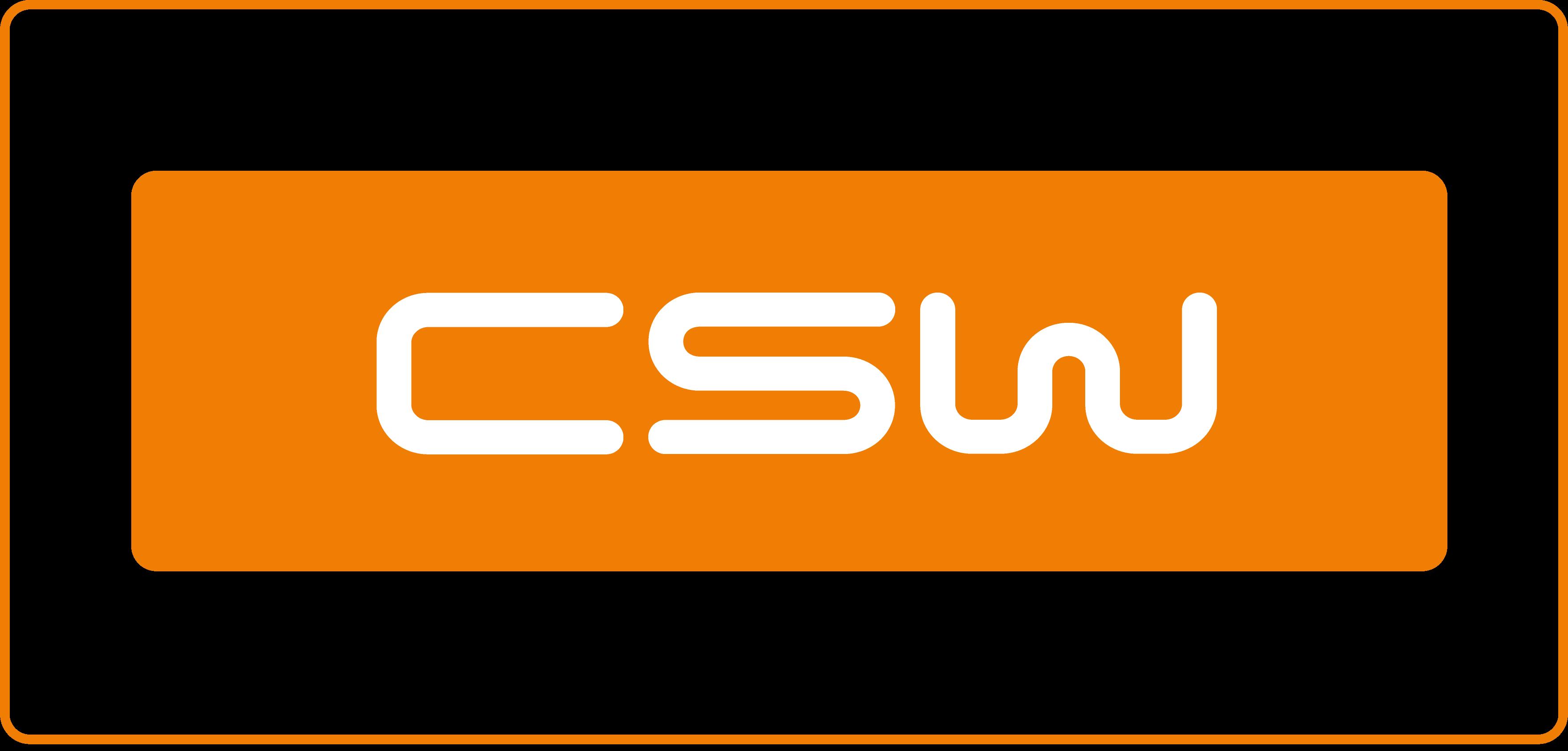 Logo CSW Rettangolare